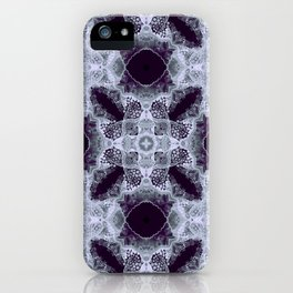 Art Nouveau in the dark iPhone Case