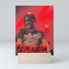 Playboi carti Mini Art Print