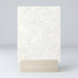 Dotted Gold Mini Art Print