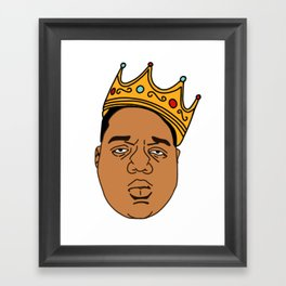 The Notorious BIG Framed Art Print