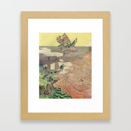 Mu Guai and the Tiger's Eye, Panel 2 Framed Art Print