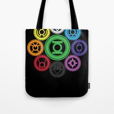 Living In Colour Tote Bag