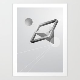 Space three Art Print
