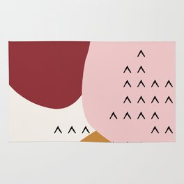 Big Shapes / Mountains Rug