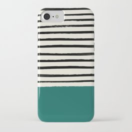 Jungle x Stripes iPhone Case