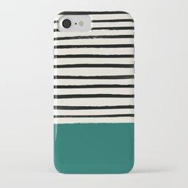 Jungle x Stripes iPhone Case