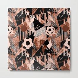 Football. Sports print.2 Metal Print