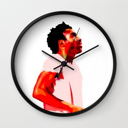Childis Gambino Wall Clock
