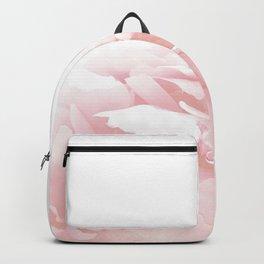 Beautiful Blush Cotton Peony Backpack