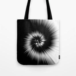 TIE DYE #1 (Black & White) Tote Bag