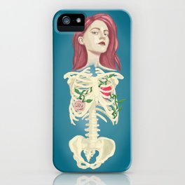 Loved chest iPhone Case