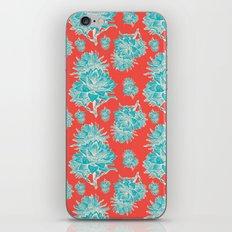 Artichoticka Cyan iPhone & iPod Skin
