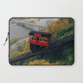 An Autumn Day on the Duquesne Incline in Pittsburgh, Pennsylvania Laptop Sleeve