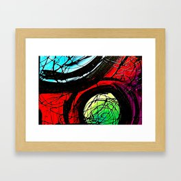 The Intersect Framed Art Print