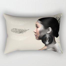 Fear of Falling Rectangular Pillow