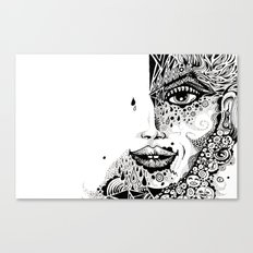 FACE+ Canvas Print