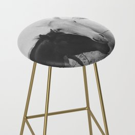 Horse Pair Bar Stool