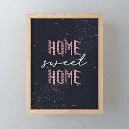 Home Sweet Home 2 Framed Mini Art Print