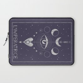 L'Imperatrice or L'Empress Tarot Laptop Sleeve