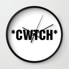 TXT SPK: *CWTCH* Wall Clock