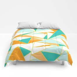 PUMPKIN GLASS WINDOW Comforters