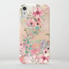 Botanical Fragrances in Blush Cloud iPhone Case