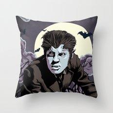 Wolfman Throw Pillow