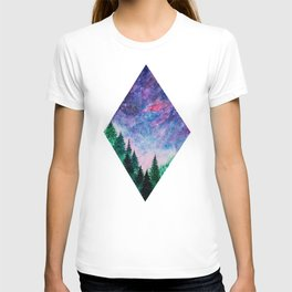 Forest in space T-shirt
