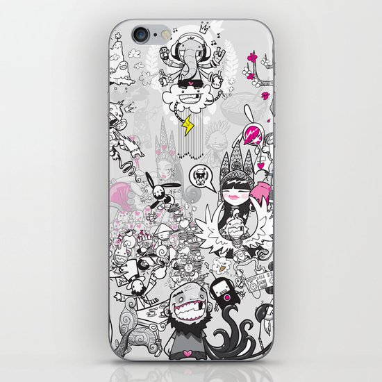 Pantheon iPhone & iPod Skin