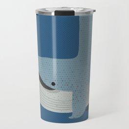 Whimsy Blue Whale Travel Mug
