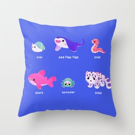 smol frens Throw Pillow