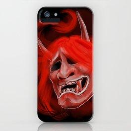 Hannya 2 iPhone Case
