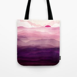 Ultra Violet Day Tote Bag