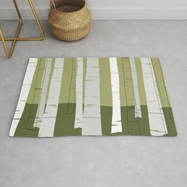 Quiet Birches Rug