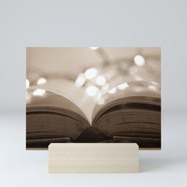 Open Book Mini Art Print