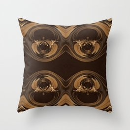 Sequential Baseline Pattern 16 Throw Pillow
