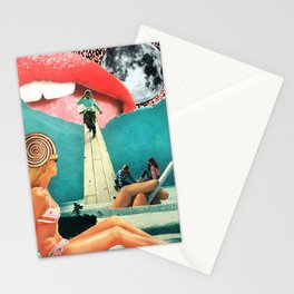 Lake Lunecandy Handmade Collage Stationery Cards
