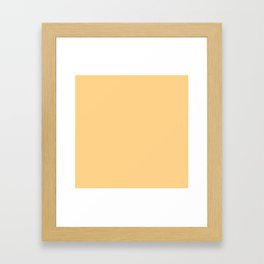 Butter Framed Art Print