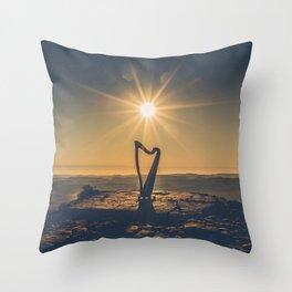 Desert Song Throw Pillow