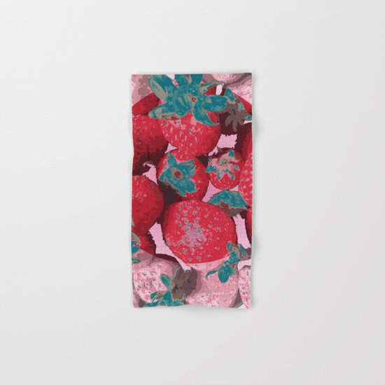 Strawberry Love (Lost Time) Hand & Bath Towel