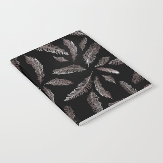 Feather Silhouettes Notebook