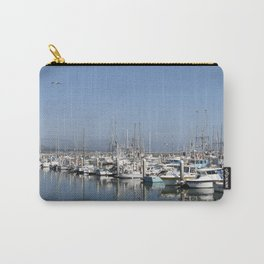 Harbor At Half Moon Bay Carry-All Pouch