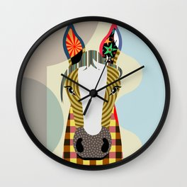 Horseplay Wall Clock