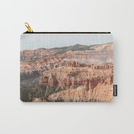 Utah Nature Landscape Art Print | Cedar Breaks National Monument Photo | USA Travel Photography Carry-All Pouch