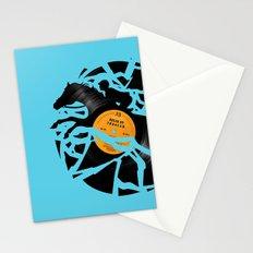 Disc Jockey Stationery Cards