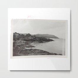 Vintage Beach Photo Metal Print