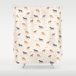 Horse Pattern Shower Curtain