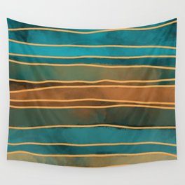 Coastal Weather Patterns Wall Tapestry