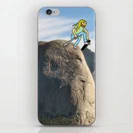 Half Dome Drop In iPhone Skin