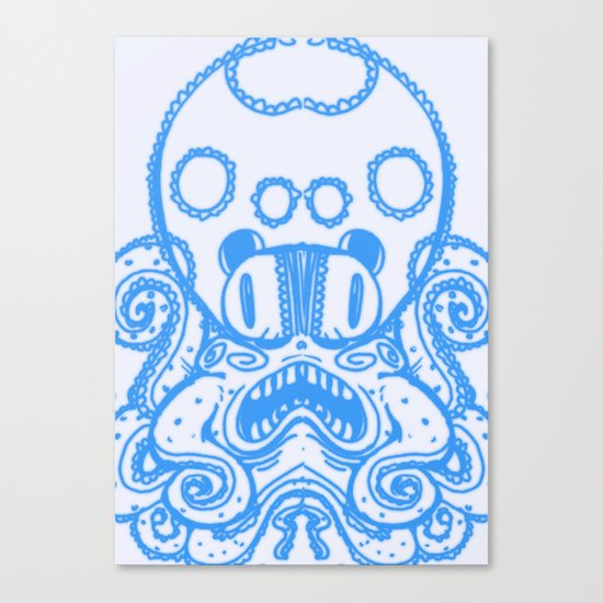 Fat Squid Canvas Print